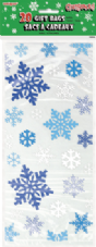 Snowflakes Clear Cello Bags 20pk